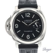 Panerai Luminor Marina Steel 44mm Black Arabic numerals