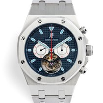 Audemars Piguet Royal Oak Tourbillon Steel 44mm Blue United Kingdom, London