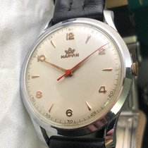 Marvin Steel 37mm Manual winding pre-owned