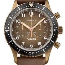 Zenith Pilot Type 20 neu Automatik Uhr mit Original-Box und Original-Papieren 29.2240.405/18.С801