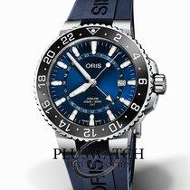 Oris Aquis GMT Date Steel 43,50mm Blue