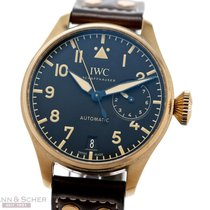 IWC Automatic Black Arabic numerals 46mm pre-owned Big Pilot