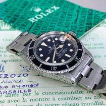 Rolex Submariner Date Acier 40mm Noir Sans chiffres France, Marseille