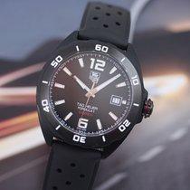TAG Heuer Titanium Automatic Black Arabic numerals 41mm new Formula 1 Calibre 5