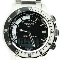 Tissot Sea-Touch Acero 44mm Negro