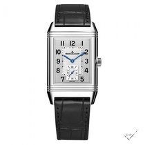 Jaeger-LeCoultre Reverso Duoface Steel 47mm Silver Arabic numerals United States of America, Iowa, Des Moines