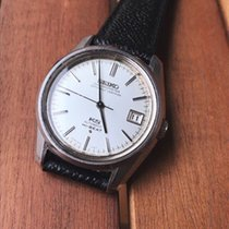 Seiko King Steel 36mm Silver No numerals