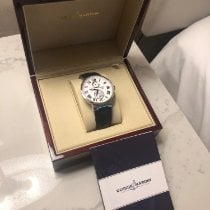 Ulysse Nardin Marine Chronometer 43mm pre-owned 43mm White Date Crocodile skin