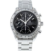 Omega Speedmaster Date Steel 39mm Black United States of America, Georgia, Atlanta