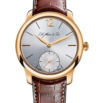 H.Moser & Cie. Endeavour Rose gold 39mm Silver