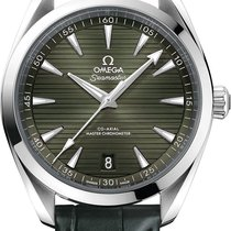 Omega Seamaster Aqua Terra Steel 41mm Green United States of America, New York, Airmont