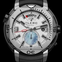 Clerc Hydroscaph GMT Steel 43.2mm