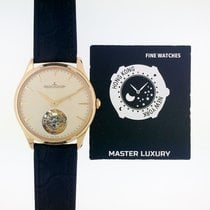 Jaeger-LeCoultre Master Ultra Thin Tourbillion Oro rosado 40mm Champán Sin cifras