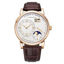 A. Lange & Söhne Lange 1 Moonphase 38.5mm Rose Gold Manual...