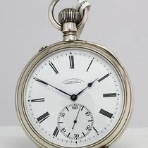 A. Lange & Söhne Silver Manual winding Roman numerals pre-owned