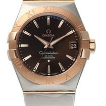 Omega 123.20.38.21.13.001 Constellation Men Co-Axial 38MM 18KR...