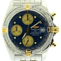 Breitling Chronographe Men's Blue Dial Stainless Steel...