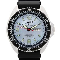 Chris Benz Staal 42mm Quartz CBO-H-SW-KB nieuw