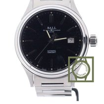 Ball Fireman Classic 40mm Black Dial NEW