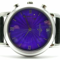 Ulysse Nardin San Marco pre-owned Leather