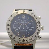 Panerai Mare Nostrum Steel 42mm Blue Arabic numerals