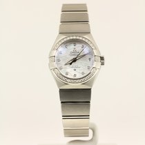 Omega Constellation Ladies NEW complete with box and papers