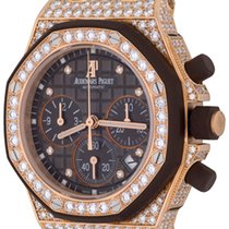 Audemars Piguet Royal Oak Offshore Lady Rose gold 37mm Brown No numerals United States of America, Texas, Dallas