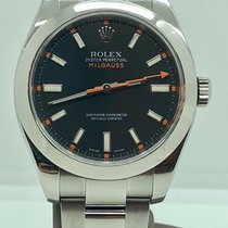 Rolex Milgauss Organe black with box mint (no Papers) like new...
