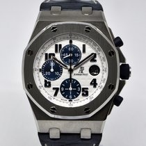 Audemars Piguet Royal Oak Offshore Chronograph Acero 42mm Blanco Árabes España, Marbella