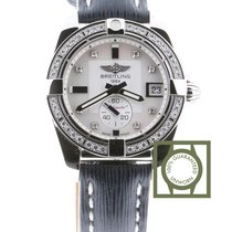 Breitling Galactic 36 Automatic Mother of Pearl Dial Diamond...