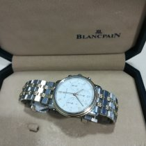 Blancpain Cronografo 38mm Automatico nuovo Bianco
