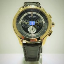 Universal Genève Compax new 2009 Manual winding Chronograph Watch with original box and original papers 482.123/0675.CD
