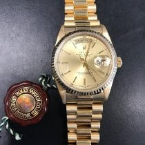 Rolex Day-Date 36 Yellow gold 36mm No numerals United States of America, Maryland, Rockville