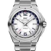 IWC IW324404 Stål Ingenieur Dual Time 43mm ny