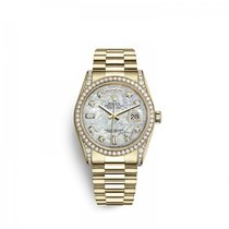 Rolex Day-Date 36 Yellow gold 36mm Mother of pearl