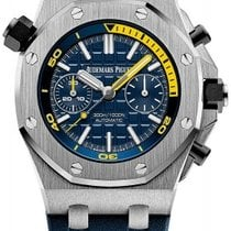 Audemars Piguet Royal Oak Offshore Diver Chronograph Steel 42mm Blue