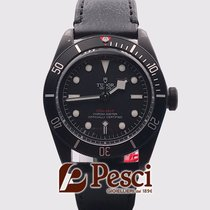 Tudor Black Bay Dark Steel 41mm Black No numerals