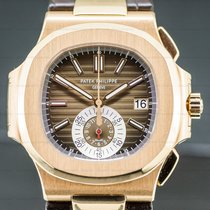 Patek Philippe Nautilus Ροζέ χρυσό 43.5mm