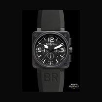 Bell & Ross BR 01-94 Chronographe nouveau 2018 Remontage automatique Montre avec coffret d'origine et papiers d'origine BR0194S05326