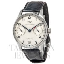 IWC Portuguese Automatic Steel 42mm Silver Arabic numerals United States of America, New York, Hartsdale