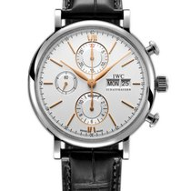 IWC Portofino Chronograph new 2019 Automatic Chronograph Watch with original box and original papers IW391031