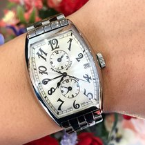 Franck Muller Master Banker Steel 32mm White Arabic numerals United States of America, California, SAN DIEGO