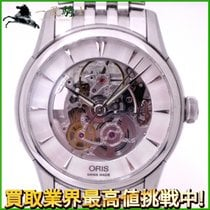 Oris Artelier Skeleton Acero 39mm Transparente