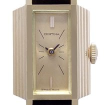 Certina Rose gold 25mm 0808 377 new