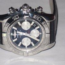 Breitling Chronomat Acero 44mm Negro Sin cifras