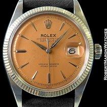 Rolex 6605 Datejust Salmon Dial Steel