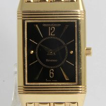 Jaeger-LeCoultre Red gold Manual winding 23mm pre-owned Reverso Classique