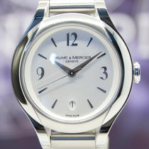 Baume & Mercier Lady Ilea Steel silber Dial Diamond Crown...
