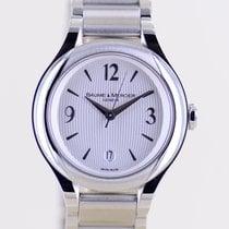 Baume & Mercier Ilea Steel 30mm Silver Arabic numerals