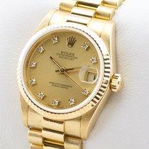 Rolex Datejust (Submodel) gebraucht 31mm Gelbgold
